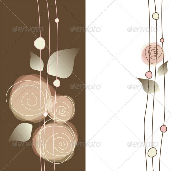 Roses - Backgrounds Decorative