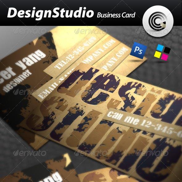 Design Studio Business Card