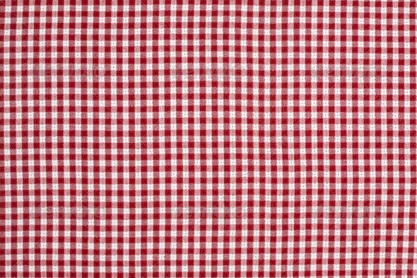 Red And White Gingham Checkered Tablecloth By Andy Dean Photog Graphicriver