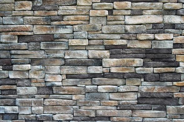Memorial Chapel Wall - Stone Textures