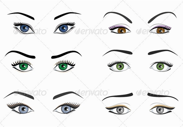 Eyes Pack - Miscellaneous Characters