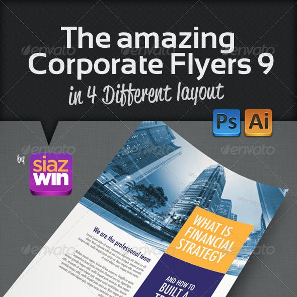 The Amazing Corporate Flyers 9
