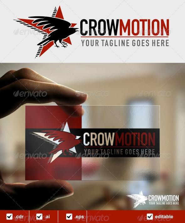 Crowmotion Logo - Animals Logo Templates