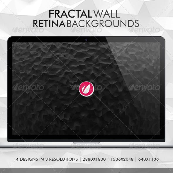 Fractal Wall Backgrounds