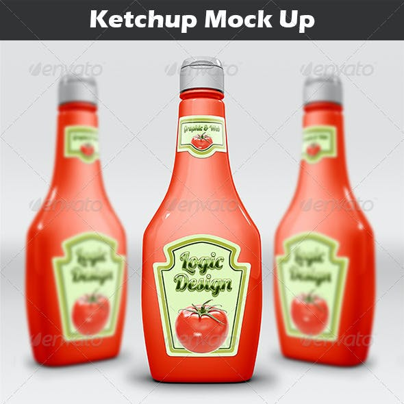 Ketchup Mock Up
