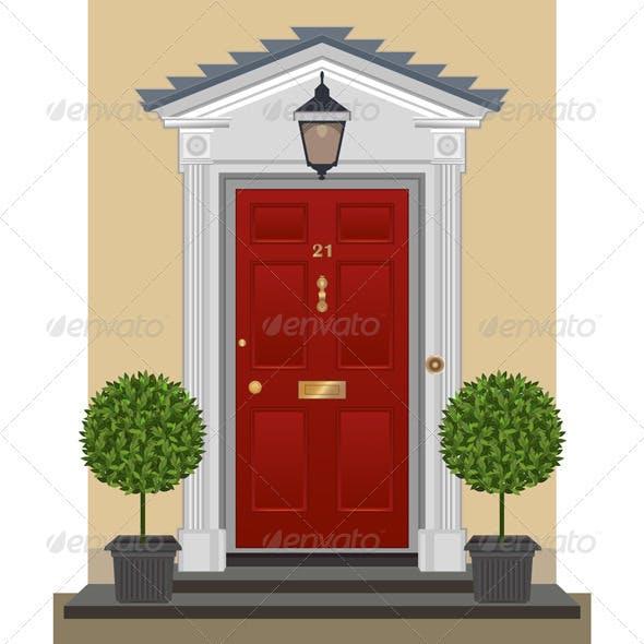 Door - Vector Illustration