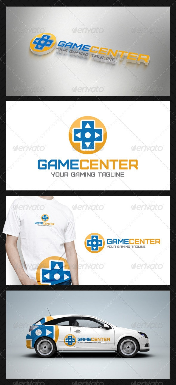 Game Center Logo Template - Objects Logo Templates