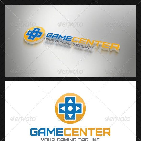 Game Center Logo Template