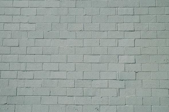 White Block Wall - Stone Textures