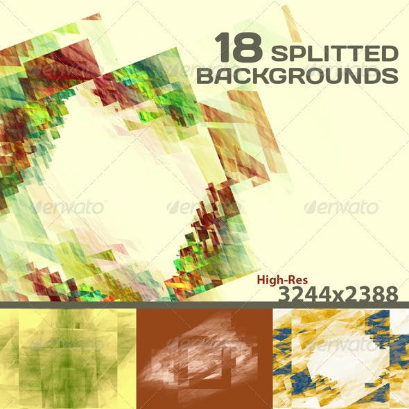 18 Splitted Backgrounds