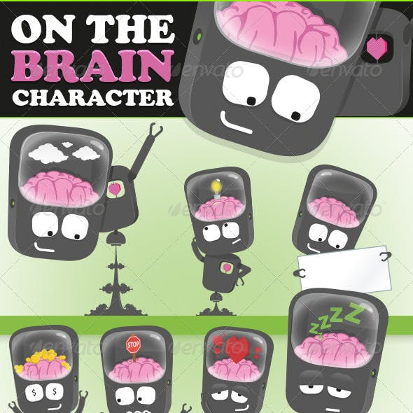 Robot on The Brain Character