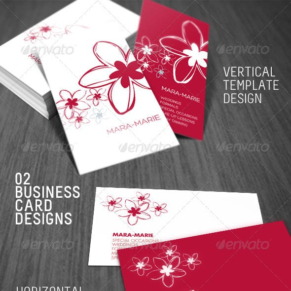 2 Fresh Beauty Business Card
