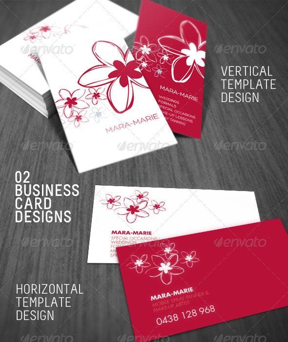 2 Fresh Beauty Business Card - Creative Business Cards