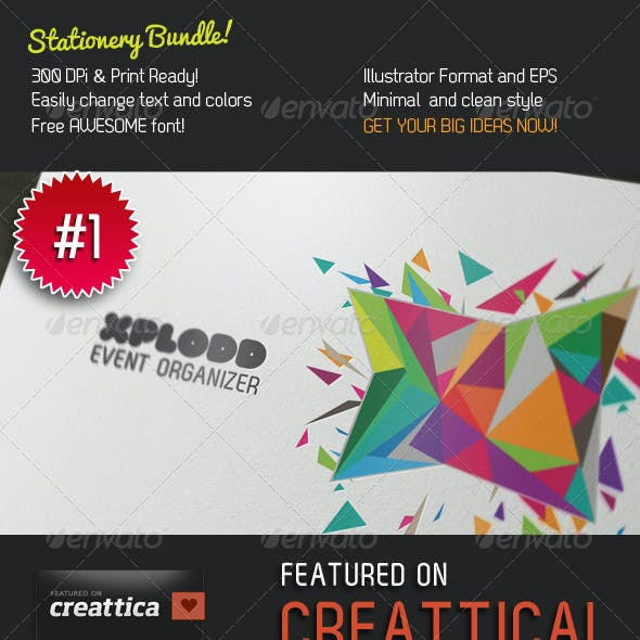 Big Ideas Stationery 3 in 1 Bundle