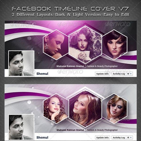 Photographer's FB Timeline Cover V7