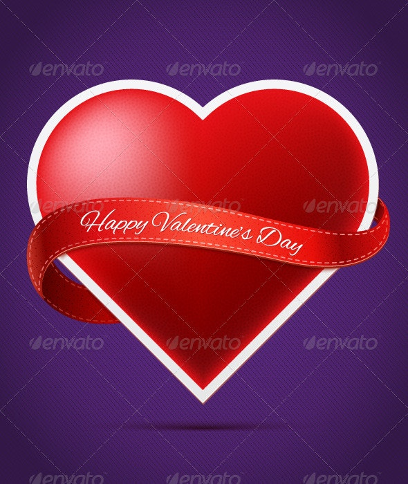 Valentine's Day Heart - Valentines Seasons/Holidays