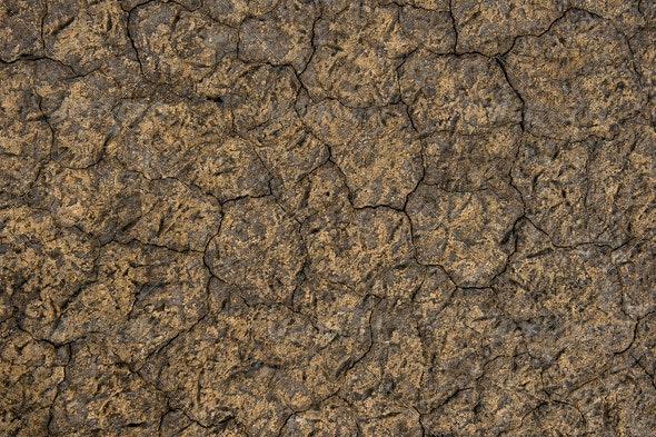 Dry Salt Lake - Nature Textures