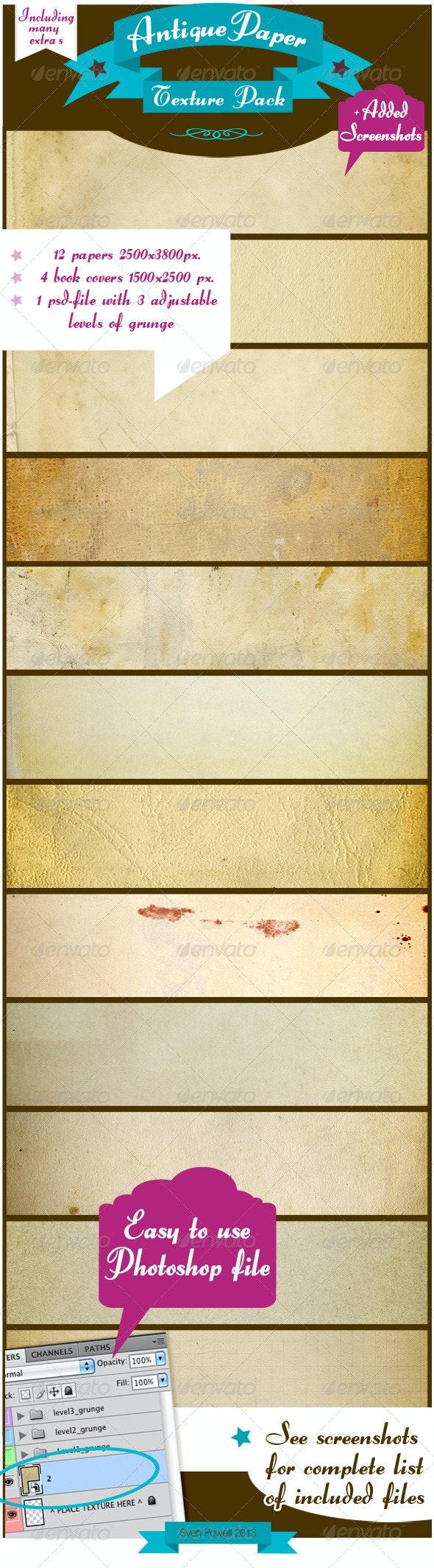 Antique Paper Textures - Paper Textures