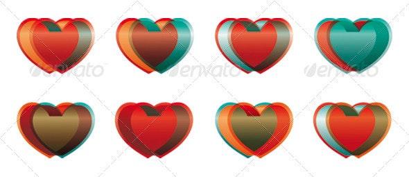 Hearts Made of Glass - Valentines Seasons/Holidays