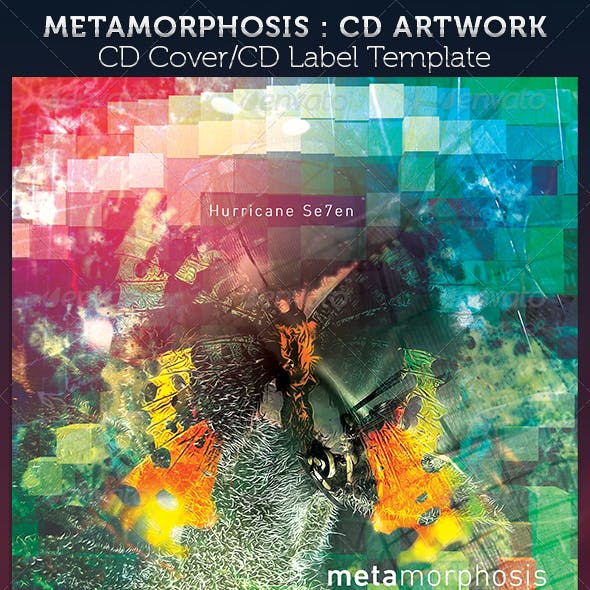 Metamorphosis CD Cover Artwork Template