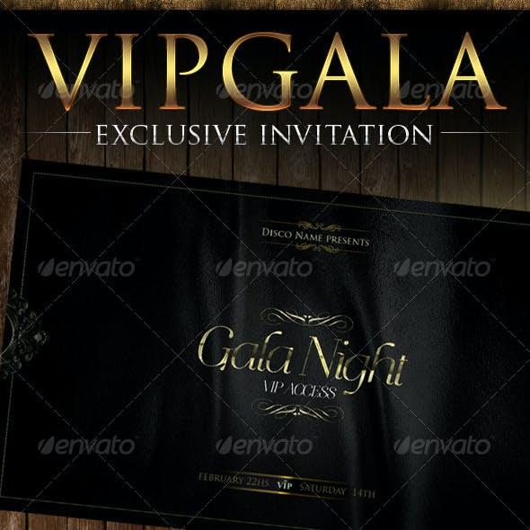 Gala Night Vip Flyer