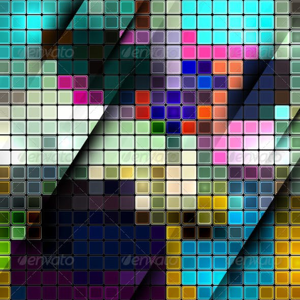 Vector Mosaic Background