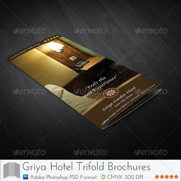 Griya Hotel Trifold Brochure