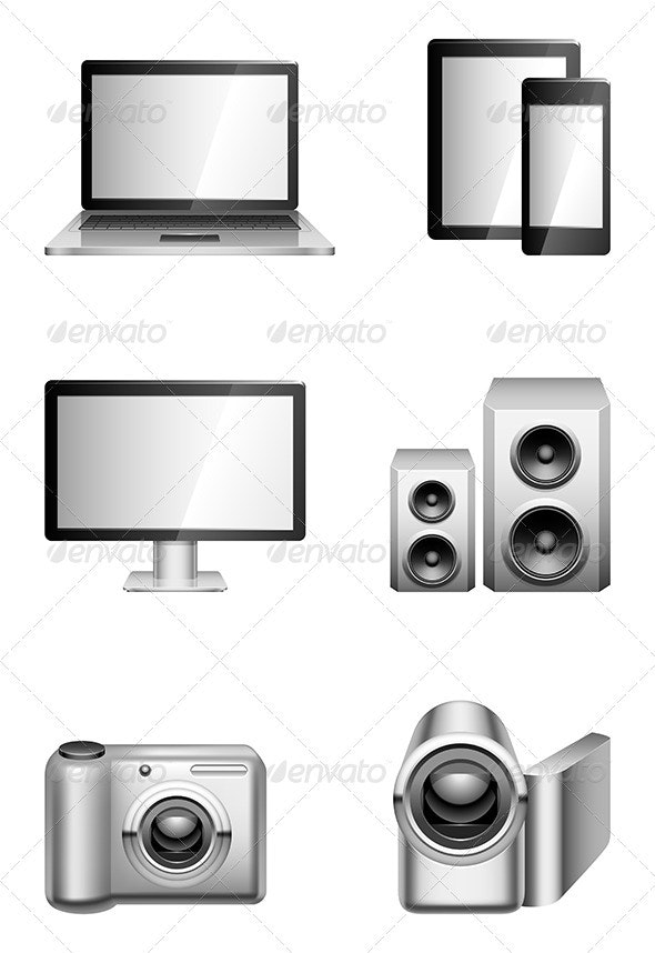 Computers and Electronics - Technology Conceptual