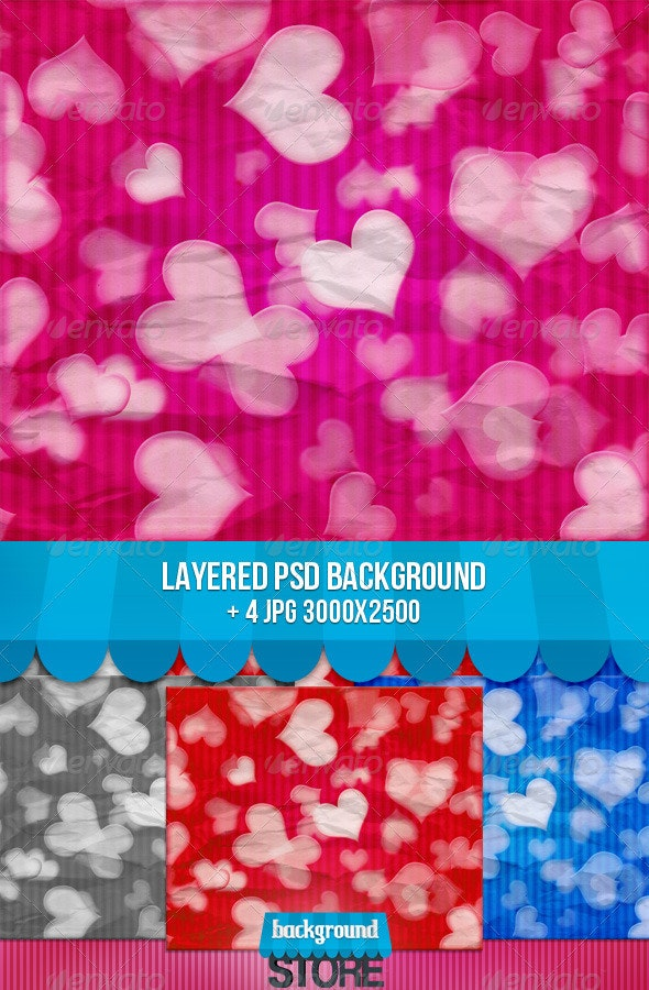 Valentine Background - Backgrounds Graphics