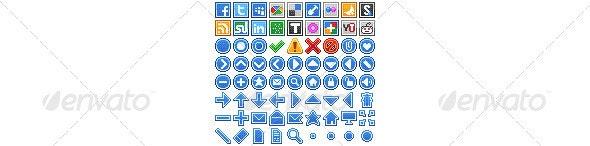 Pixelity Web Iconset - Web Icons