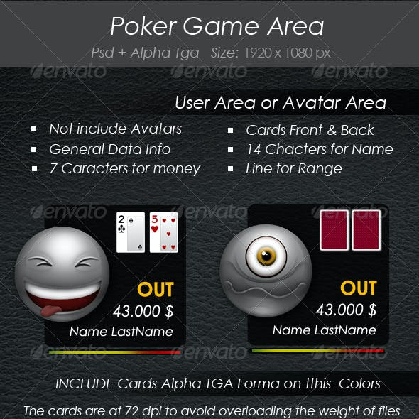 Poker Game Area