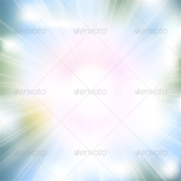 Glow Rays from Flare Explosion - Backgrounds Decorative