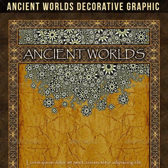 Ancient Worlds Decorative Graphic