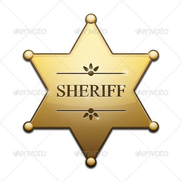 Golden Sheriff Star