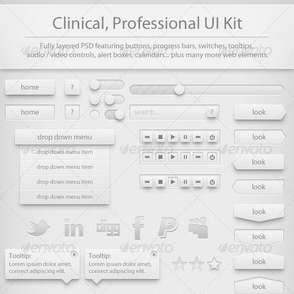 Clinic UI Kit