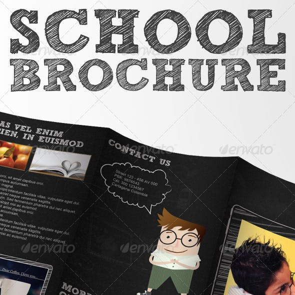 School Brochure - Tri-Fold Brochure