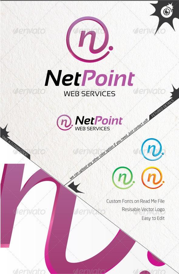 Net Point Logo - Letters Logo Templates