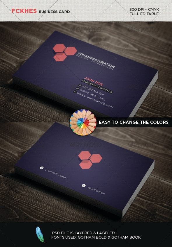 Geometric Business Card - Creative Business Cards