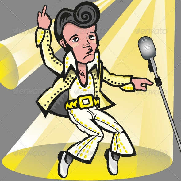 Elvis Presley - Characters Vectors