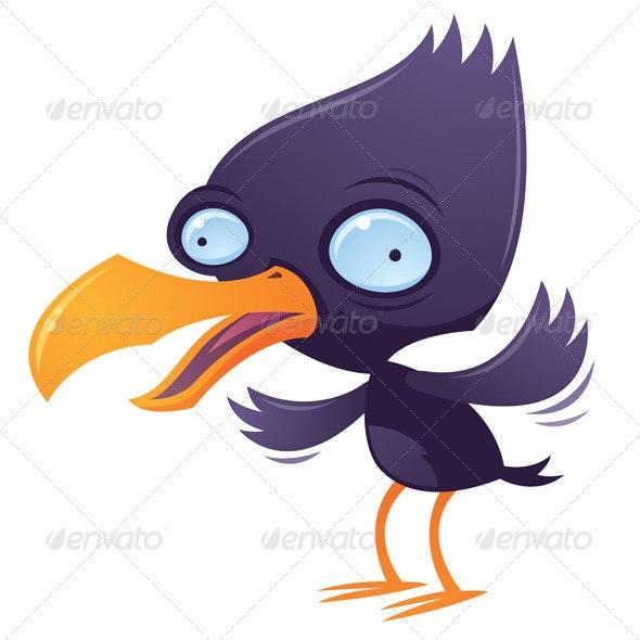 Wacky Squawking Bird - Animals Characters