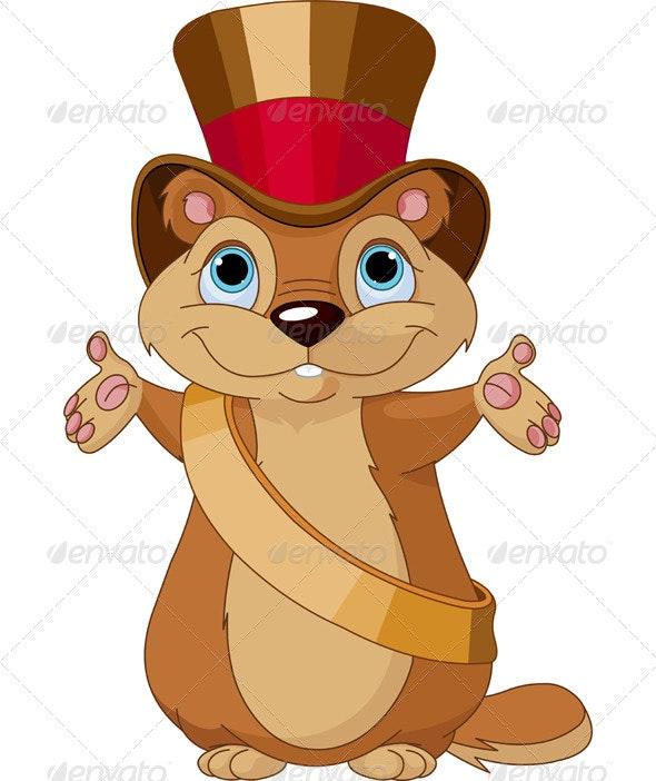 Groundhog Day - Animals Characters
