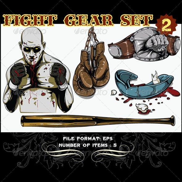Fight Gear Vector Set 2