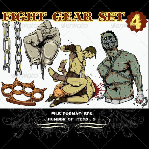 Fight Gear Vector Set 4