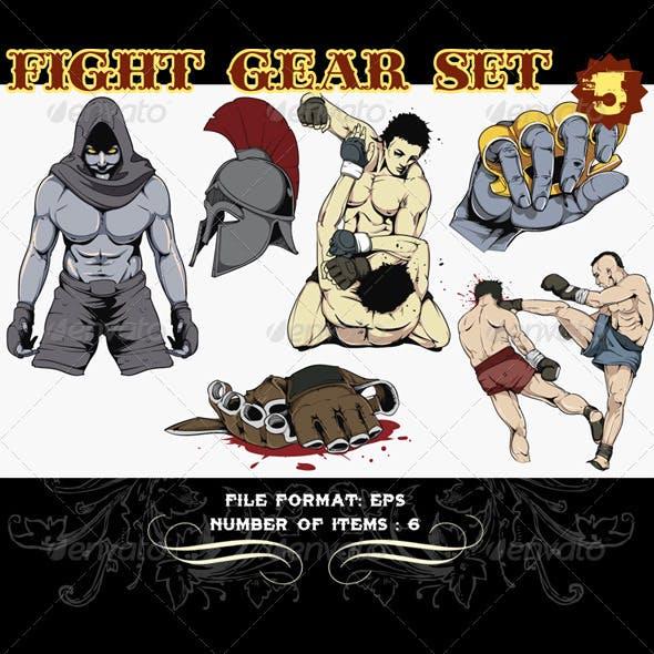 Fight Gear Vector Set 5