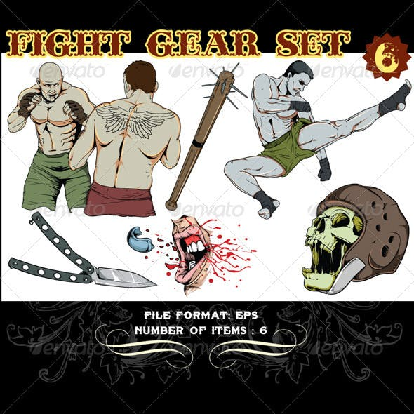 Fight Gear Vector Set 6