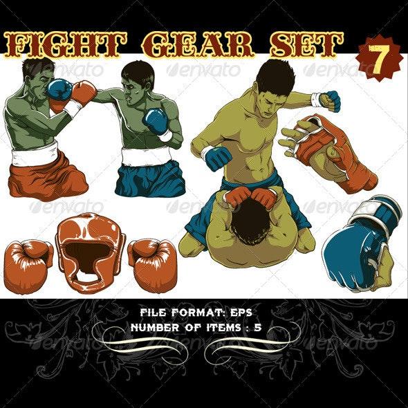 Fight Gear Vector Set 7 - Vectors