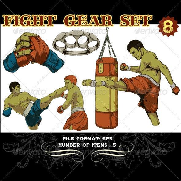 Fight Gear Vector Set 8 - Vectors