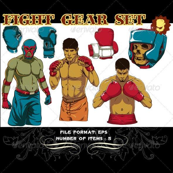 Fight Gear Vector Set 9