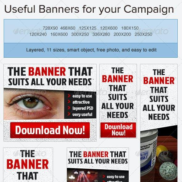Standard Banner Ad