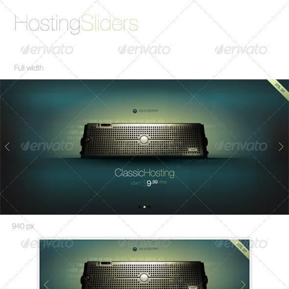 Hosting Slider